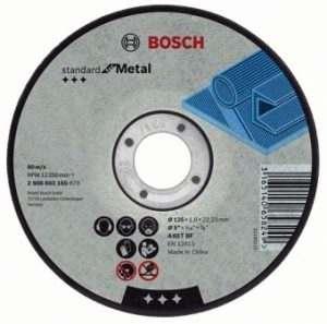 Отрезной круг Bosch Standard по металлу 230х3мм SfM, прямой, 2608603168
