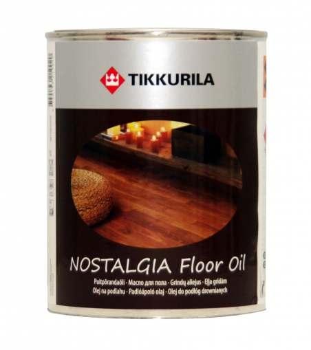 Tikkurila Nostalgia (Тиккурила Ностальгия) Масло для пола, 1 л