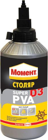 Клей МОМЕНТ СУПЕР ПВА MSP09,  750 гр