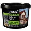 Farbex Краска резиновая (вишневая), 6 кг