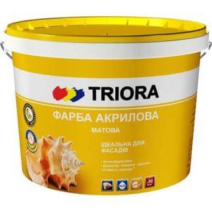 Акриловая фасадная краска Triora, 1л