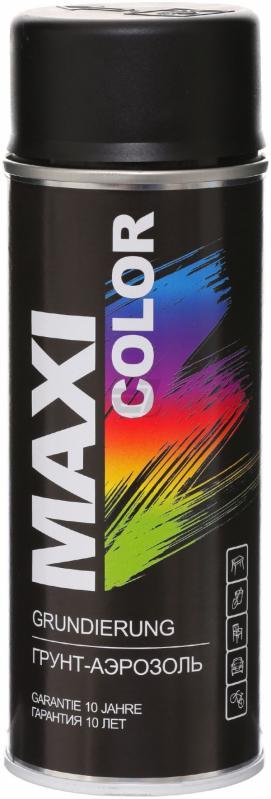 Универсальный аэрозольный грунт Maxi Color 400 мл, Черный