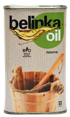 BELINKA Масло Sauna – PARAFFIN, 0.5 л