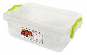 AL-PLASTIK Lux №3 Пищевой контейнер с ручками 1.2 л