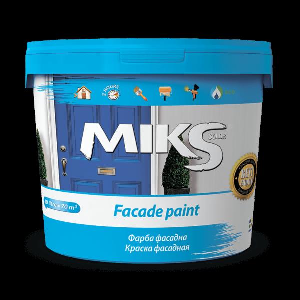 Краска фасадная МИКС Miks color , 1.4 кг