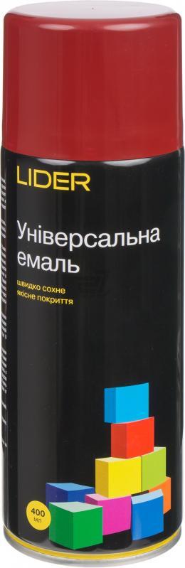Универсальная эмаль Lider 400 мл, вишневая №3011