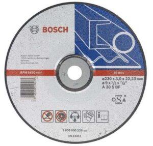 Отрезной круг Bosch металл 230х3 вогн, 2608600226