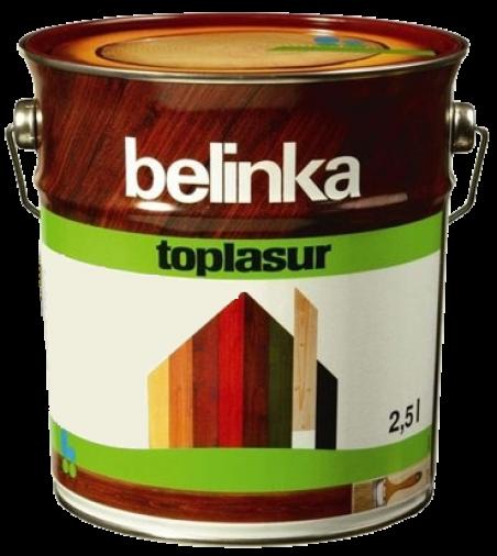 Belinka Toplasur № 18 красная, 5 л