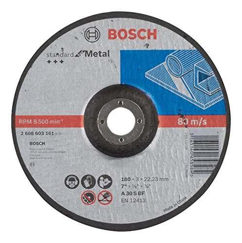 Отрезной круг Bosch Standard по металлуl 180х3мм, вогнутый, 2608603161