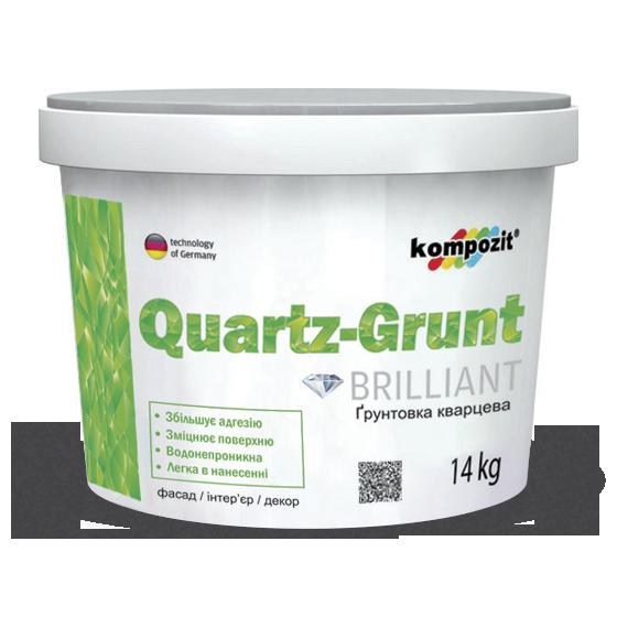 Kompozit Грунтовка адгезионная QUARTZ-GRUNT, 4 кг