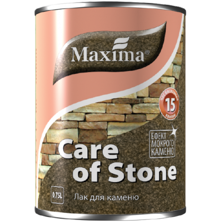 Акриловый лак для камня Maxima матовый, 0.75 л