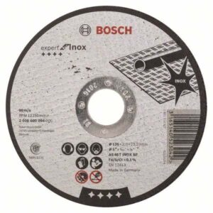 Отрезной круг Bosch Standard по металлу 125х2.5мм SfM, прямой, 2608603166