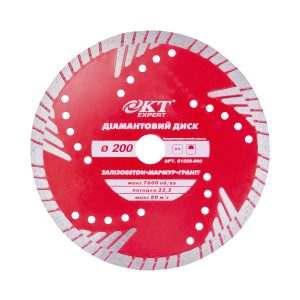 Алмазный диск KT Expert 200*10*2,6*5T*22,2