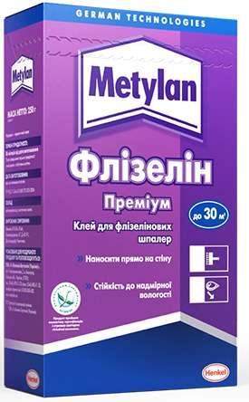 Клей для обоев Metylan Флизелин Премиум, 250 г