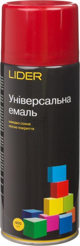 Универсальная эмаль Lider 400 мл, темно-красная №3002