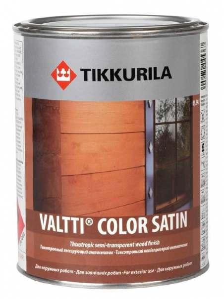 Tikkurila Valtti Color Satin (Тиккурила Валтти Колор Сатин) Антисептик, 2.7 л