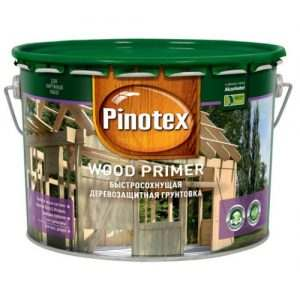 PINOTEX WOOD PRIMER БЕCЦВ. 10 л