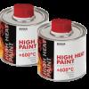 Жаростойкая краска для металла Biodur 200 мл, серебристая
