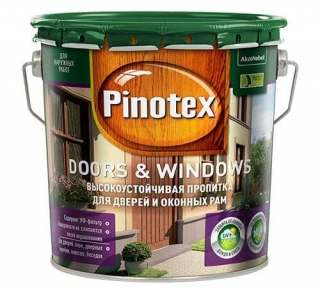 PINOTEX DOORS & WINDOWS ТИК, 3 л