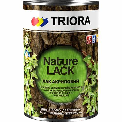 Акриловый лак Triora, 0.75 л