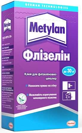 Клей для обоев Metylan Флизелин, 250 г