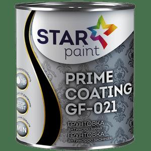 Грунт ГФ-021 STAR Paint, темно-серый, 0.9 кг