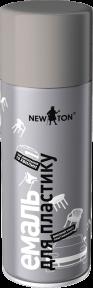 Эмаль специализированная в аэрозольном баллоне для пластика NEW TON 400 мл, черная