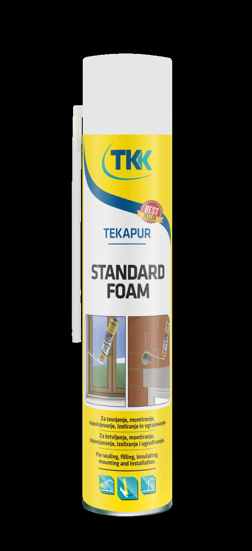 Ручная летняя монтажная пена TKK Tekapur Standart Spray, 750 мл