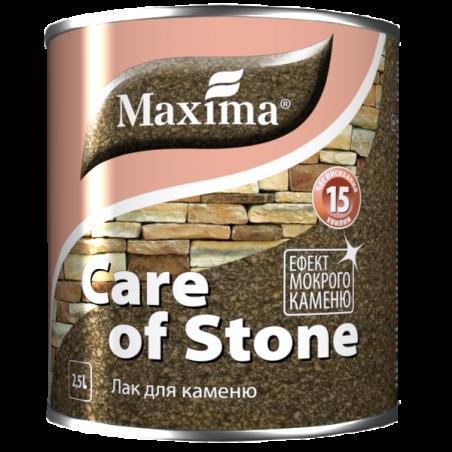 Акриловый лак для камня Maxima полуматовый, 2.5 л