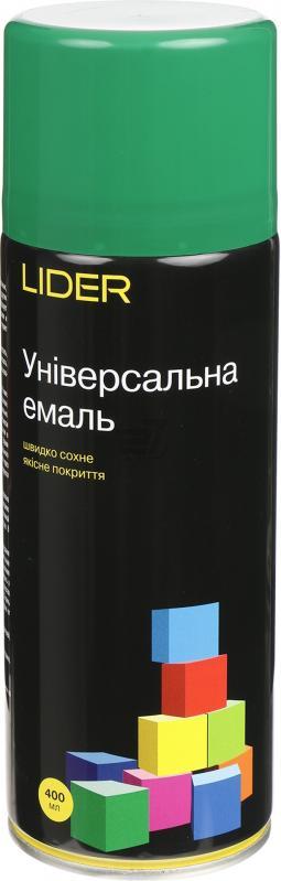 Универсальная эмаль Lider 400 мл, зеленая №6029