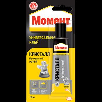 Клей МОМЕНТ КРИСТАЛ прозрачный, 30 мл