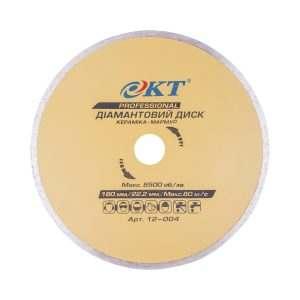 Алмазный диск KT PROFI 180 22,2, Плитка