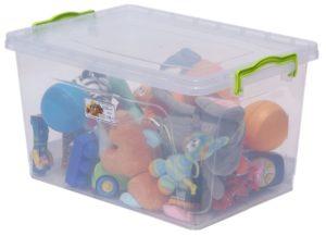AL-PLASTIK Lux №8 Пищевой контейнер с ручками 17 л