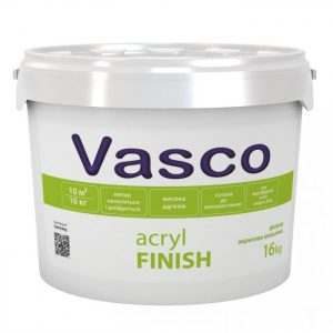 VASCO ACRYL FINISH, 16 кг