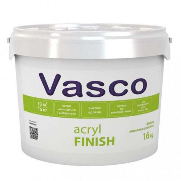 VASCO ACRYL FINISH, 16 кг