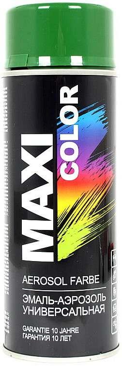 Универсальная аэрозольная эмаль Maxi Color 400 мл, Мятно-зеленая RAL 6029