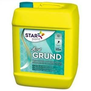 Акриловая грунтовка Acril GRUND STAR PAINT, 1 л