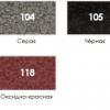 Краска для металла с молотковым эффектом Biodur 3 в 1, 2.1 л оксидно-красная 118 31512