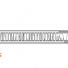 Стальной радиатор Purmo Compact, CV21s (21 тип) 500 х 2600 33425