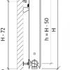Стальной радиатор Purmo Ventil Compact, CV11 (11 тип) 500 х 700 34068