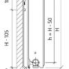 Стальной радиатор Purmo Ventil Compact, CV22 (22 тип) 900 х 1000 34486