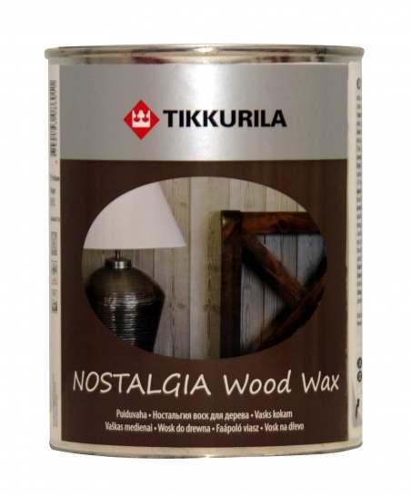 Tikkurila Nostalgia (Тиккурила Ностальгия) Воск для дерева База ЕР, 0.225 л