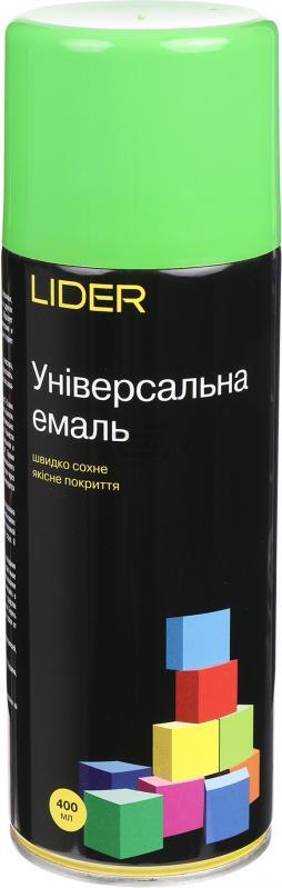 Универсальная эмаль Lider 400 мл, салатовая №6018