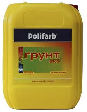 Акриловый Грунт-Эко универсал Polifarb, 5 л