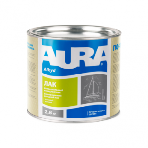 Aura ЛАК Яхтенный полуматовый, 0.8 кг