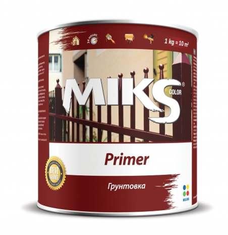 Грунтовка по металлу МИКС красно-коричневая, 12 кг