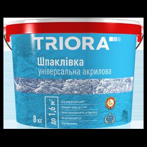 Шпаклевка универсальная акриловая Triora, 5 кг