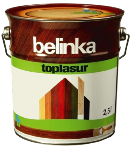 Belinka Toplasur № 11 белая, 2.5 л