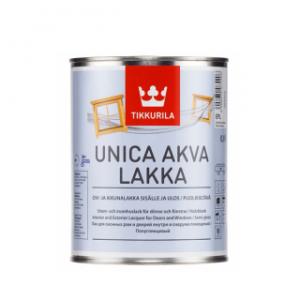 Tikkurila Unica Akva Lakka (Тиккурила Уника Аква Лакка) EP, 2.7 л