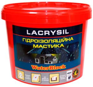 Мастика гидроизоляционная акриловая суперэластичная LACRYSIL,  3 кг
